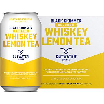 Cutwater Black Skimmer Whiskey Lemon Tea