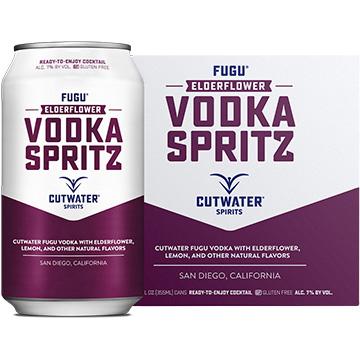 Cutwater Fugu Elderflower Vodka Spritz