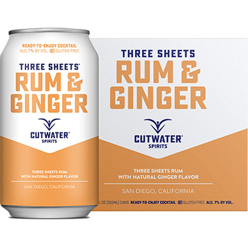 Cutwater Three Sheets Rum & Ginger