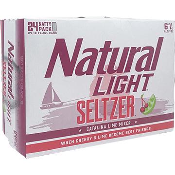 Natural Light Seltzer Catalina Lime Mixer