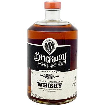 Brickway Single Malt American Whiskey