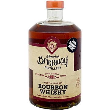 Brickway Double Barrel Bourbon Whiskey