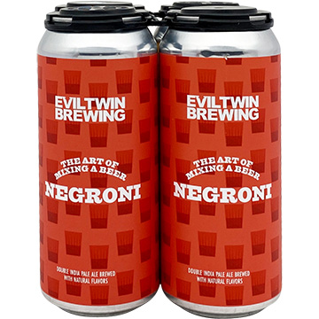Evil Twin The Art of Mixing A Beer Negroni