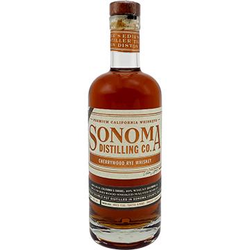 Sonoma Distilling Cherrywood Rye Whiskey