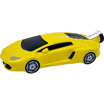 Black Soul Vodka Yellow Lamborghini Decanter