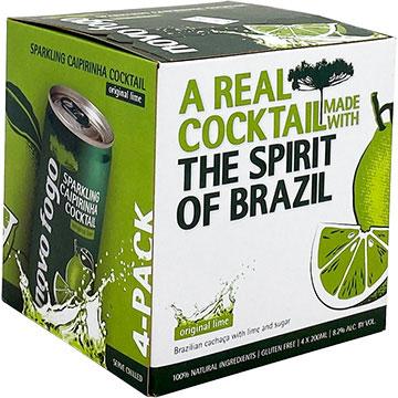 Novo Fogo Sparkling Caipirinha Lime Cocktail