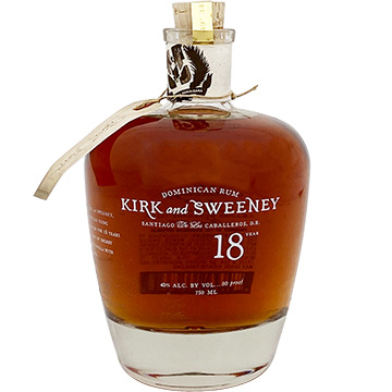 Kirk and Sweeney 18 Year Old Rum