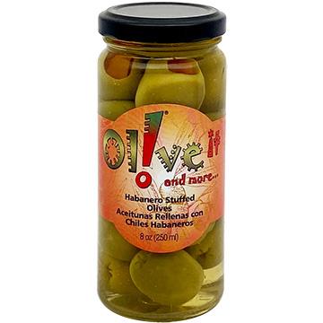 Olive-it Habanero Stuffed Olives