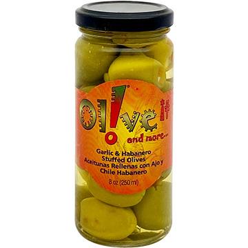 Olive-it Garlic and Habanero Stuffed Olives
