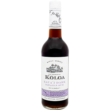 Koloa Hawaiian Kauai Dark Rum