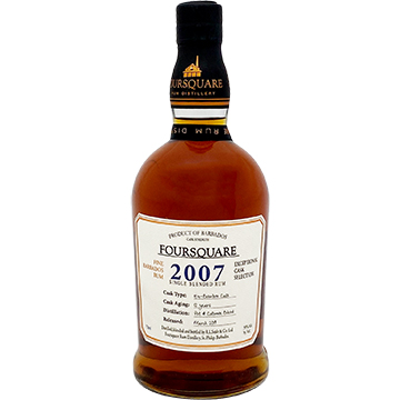Foursquare 12 Year Old 2007 Cask Strength Rum