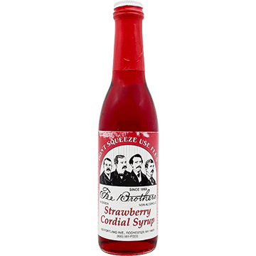 Fee Brothers Strawberry Cordial Syrup