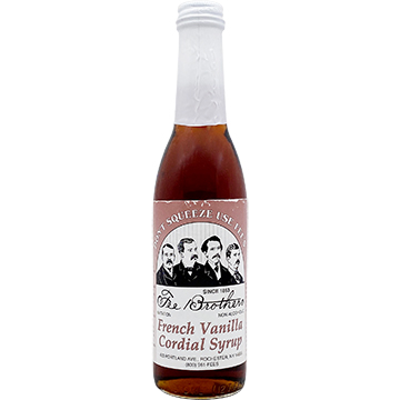 Fee Brothers French Vanilla Cordial Syrup