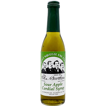Fee Brothers Sour Apple Cordial Syrup