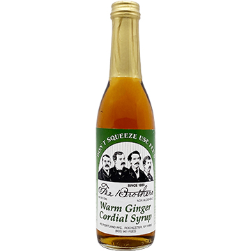Fee Brothers Warm Ginger Cordial Syrup