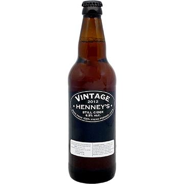 Henney's Vintage Still Cider 2012