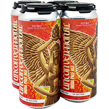 4 Hands & Trophy Brewing Unconventional IPA