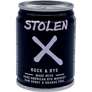 Stolen X Rock & Rye Cocktail Liqueur