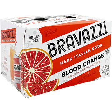Bravazzi Blood Orange Hard Italian Soda