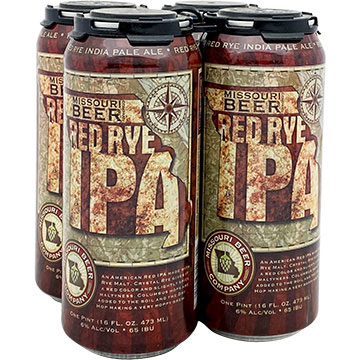 Missouri Beer Red Rye IPA
