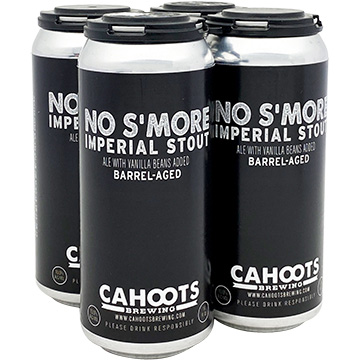 Cahoots Barrel Aged No S'More Imperial Stout