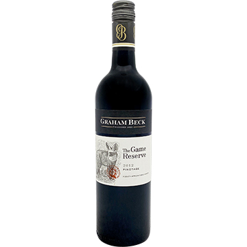 Graham Beck The Game Reserve Pinotage 2012