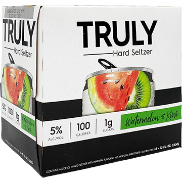 Truly Hard Seltzer Watermelon & Kiwi