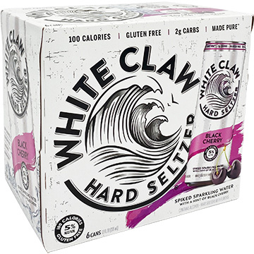 White Claw Hard Seltzer Black Cherry