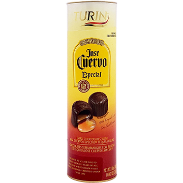 Turin Dark Chocolates filled with Jose Cuervo Especial Tequila