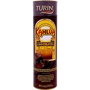 Turin Milk Chocolates filled with Kahlua Liqueur