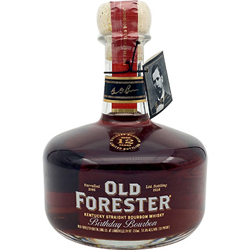 Old Forester 12 Year Old 2018 Birthday Bourbon Whiskey