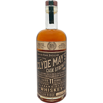 Clyde May's 11 Year Old Cask Strength Alabama Style Whiskey