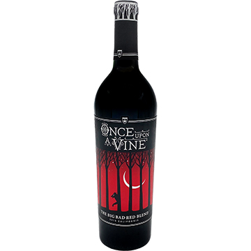 Once Upon A Vine The Big Bad Red Blend 2015