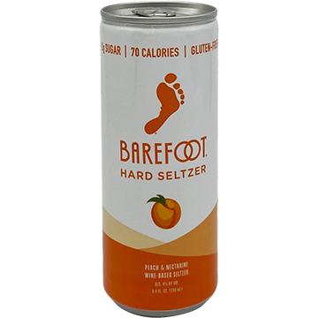 Barefoot Peach & Nectarine Hard Seltzer