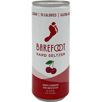 Barefoot Cherry & Cranberry Hard Seltzer