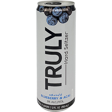 Truly Hard Seltzer Blueberry & Acai