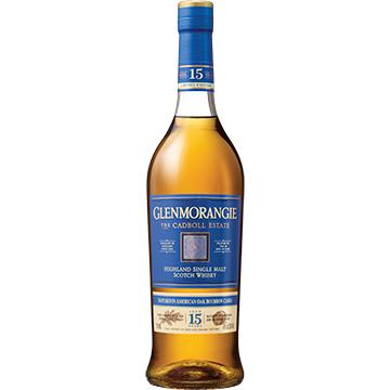 Glenmorangie The Cadboll Estate 15 Year Old Single Malt Scotch Whiskey