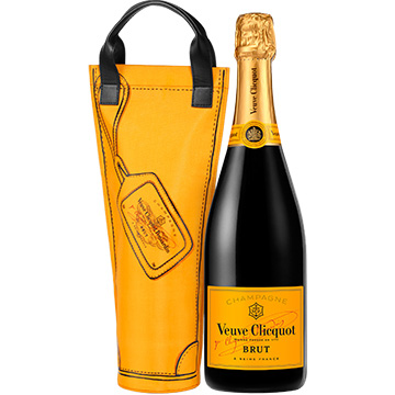 Veuve Clicquot Yellow Label Brut with Shopping Bag
