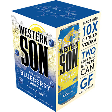 Western Son Blueberry Vodka Lemonade