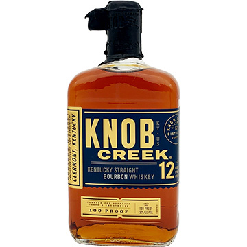 Knob Creek 12 Year Old Kentucky Straight Bourbon Whiskey