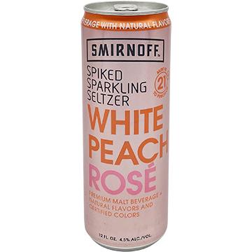 Smirnoff Spiked Sparkling Seltzer White Peach Rose