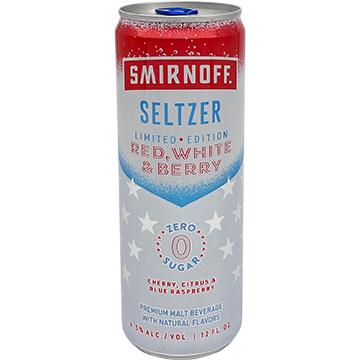 Smirnoff Seltzer Red, White & Berry