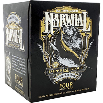 Sierra Nevada Barrel Aged Narwhal Imperial Stout