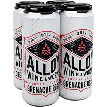 Alloy Wine Works Grenache Rose 2014