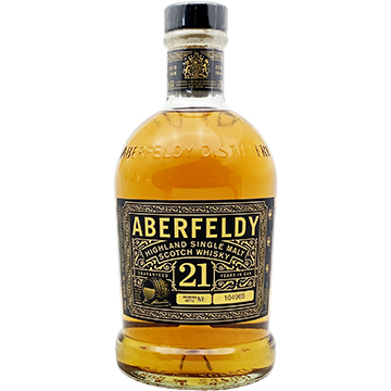Aberfeldy 21 Year Old Highland Single Malt Scotch Whiskey