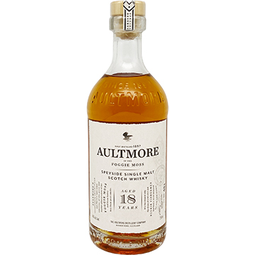 Aultmore 18 Year Old Single Malt Scotch Whiskey