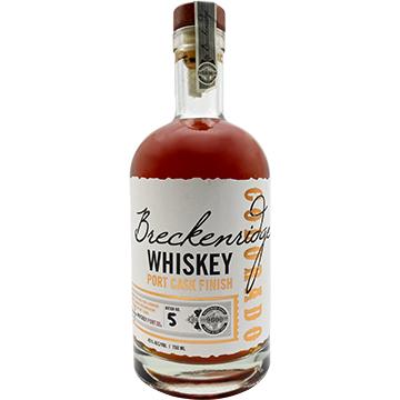 Breckenridge Port Cask Finish Bourbon Whiskey