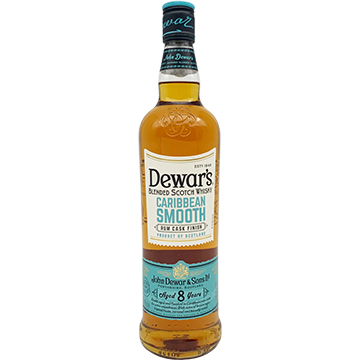 Dewar's 8 Year Old Caribbean Smooth Rum Cask Finish Blended Scotch Whiskey