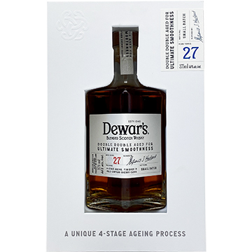 Dewar's Double Double 27 Year Old Blended Scotch Whiskey