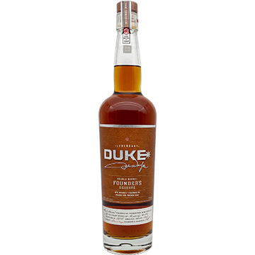 Duke Founder's Reserve Double Barrel Rye Whiskey
